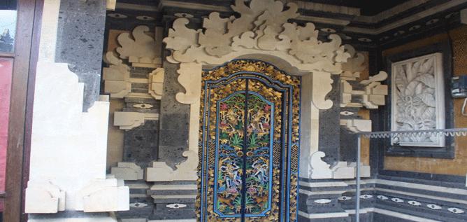 Ein Haus auf Bali